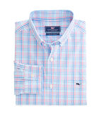 Friendly Island Check Classic Stretch Tucker Shirt