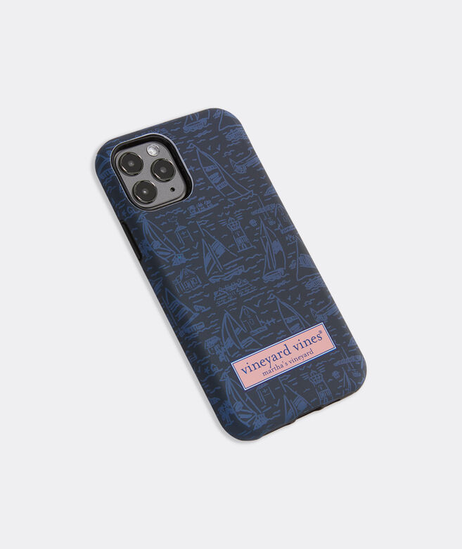 Tonal Scenic Print iPhone 11 Pro Case