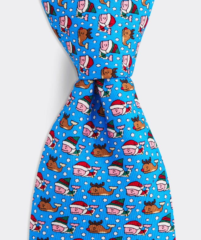 Boys' Santa's Helper Printed Tie