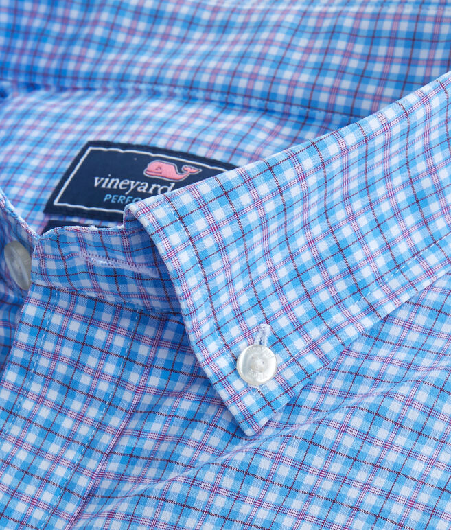 Cone Peak Plaid Performance Classic Tucker Shirt