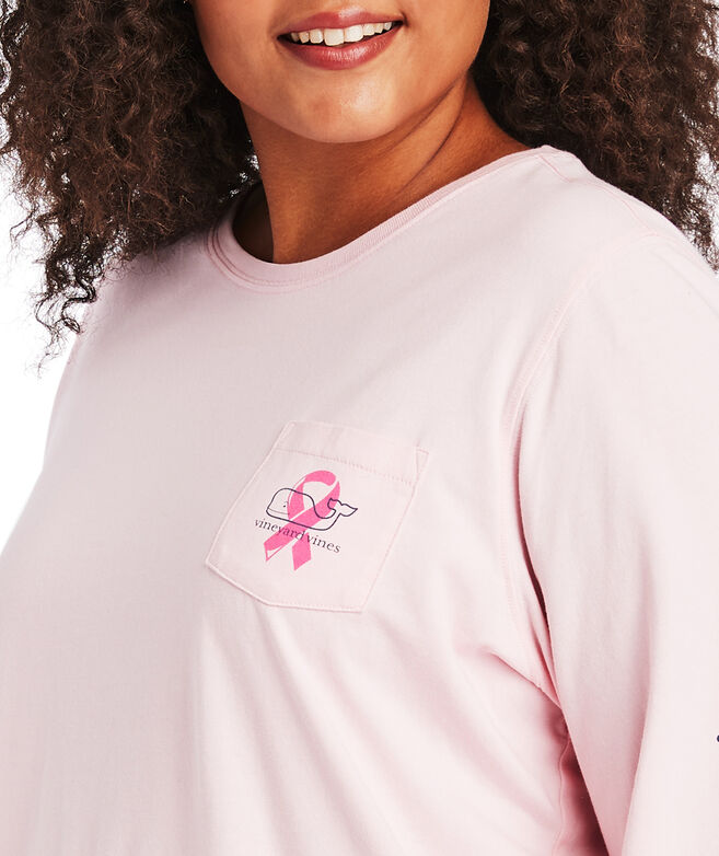 2019 Breast Cancer Awareness Long-Sleeve Pocket Tee