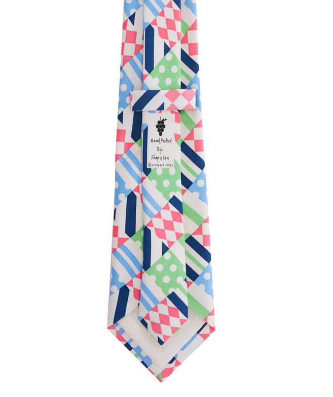 Boys Patchwork Tie