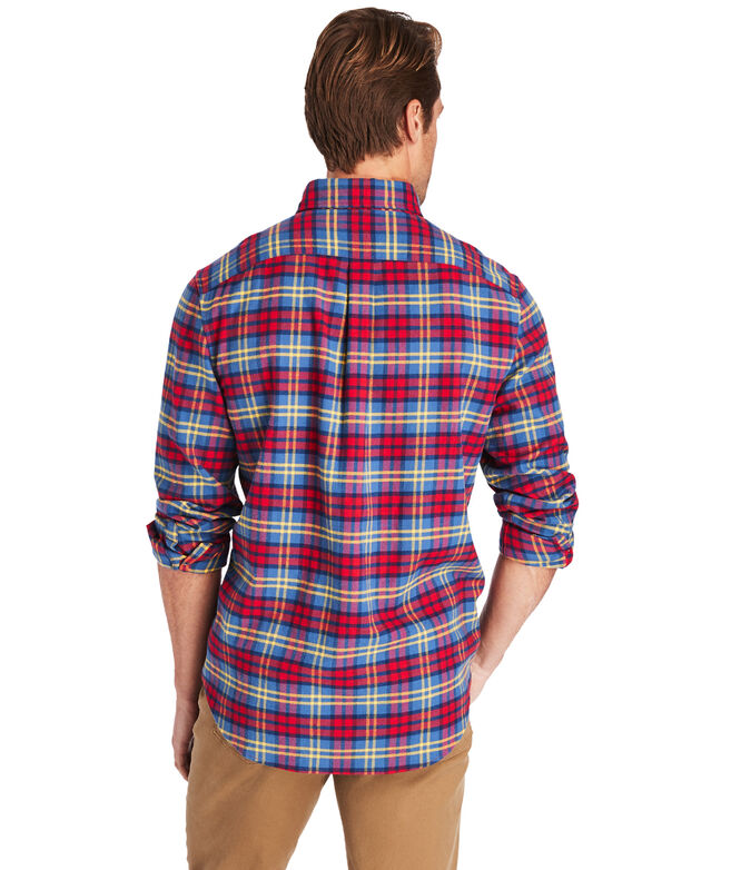 Slim Fit Offshore Flannel Murray Button-Down Shirt