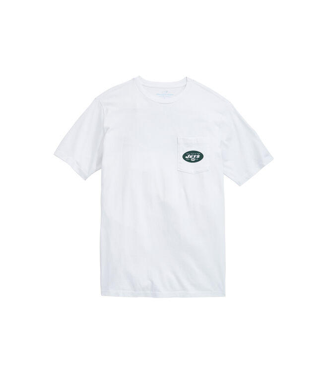 New York Jets Block Stripe Tee