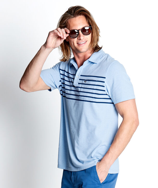Surfer Stripe Edgartown Polo