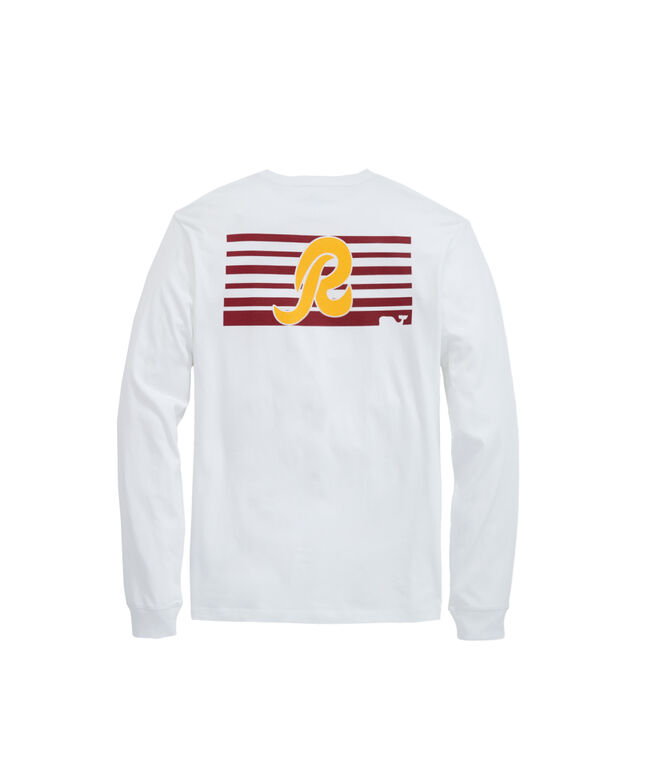 Washington Redskins Long-Sleeve Block Stripe Tee