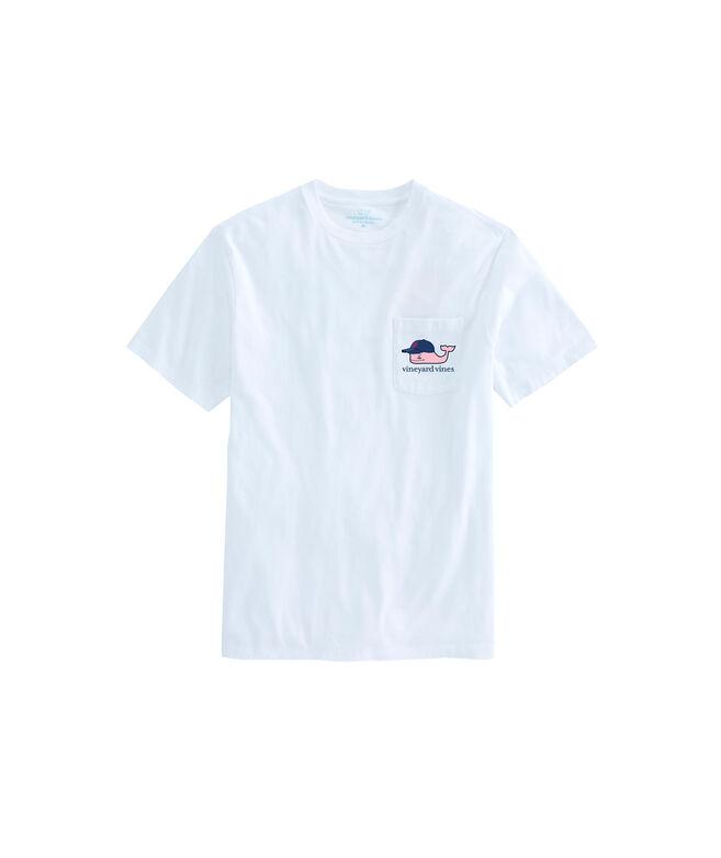 Adult Washington Nationals Baseball Cap Pocket T-Shirt