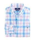 Marsara Plaid Slim Tucker Shirt