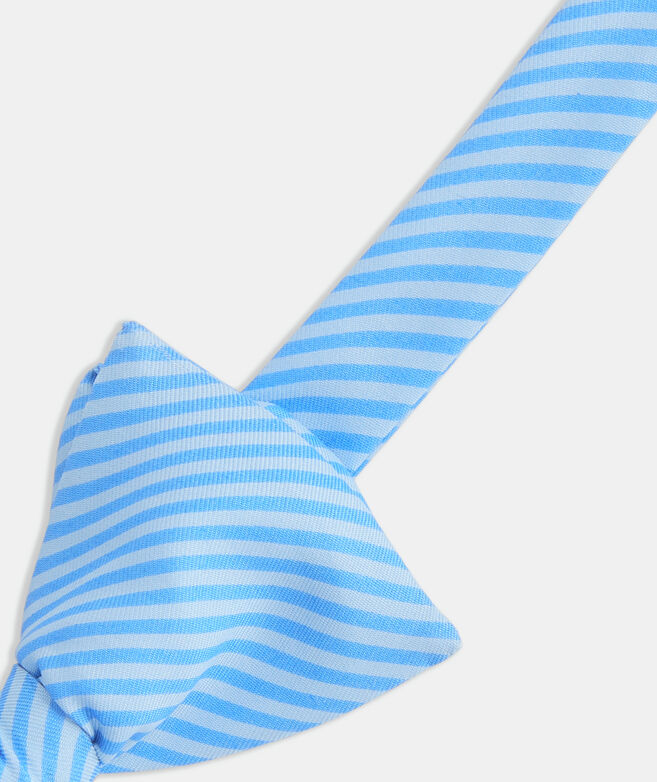 Feeder Stripe Printed Bow Tie