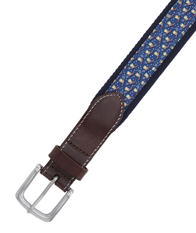 Shotski Canvas Club Belt