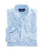Micro Turtle Print Slim Murray Shirt