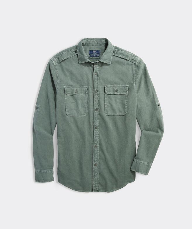 Island Twill Solid Shirt