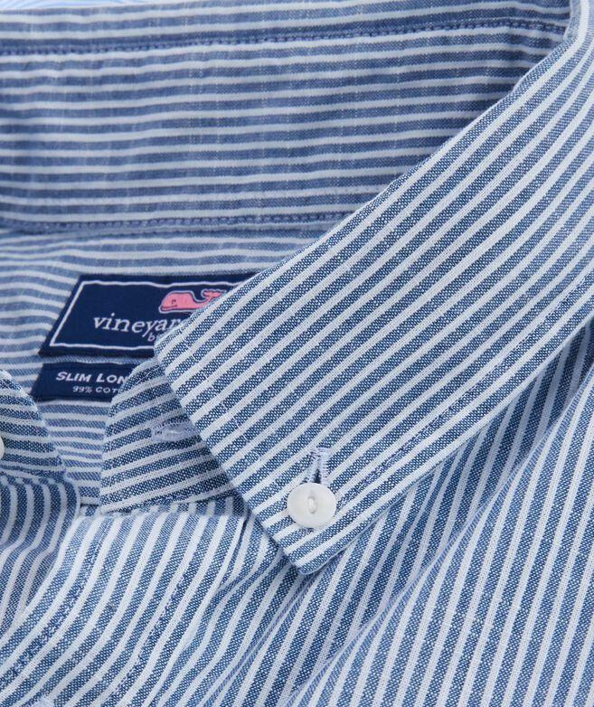 Slim Fit Falcon Stripe Longshore Shirt