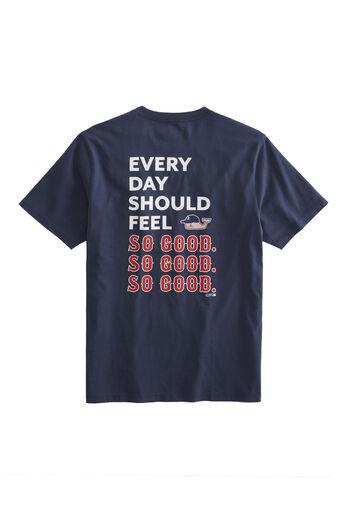 926f1275898c21 Adult Boston Red Sox EDSFSGSGSG Pocket T-Shirt