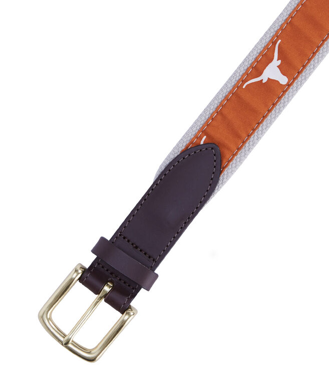 University of Texas Canvas Club Belt