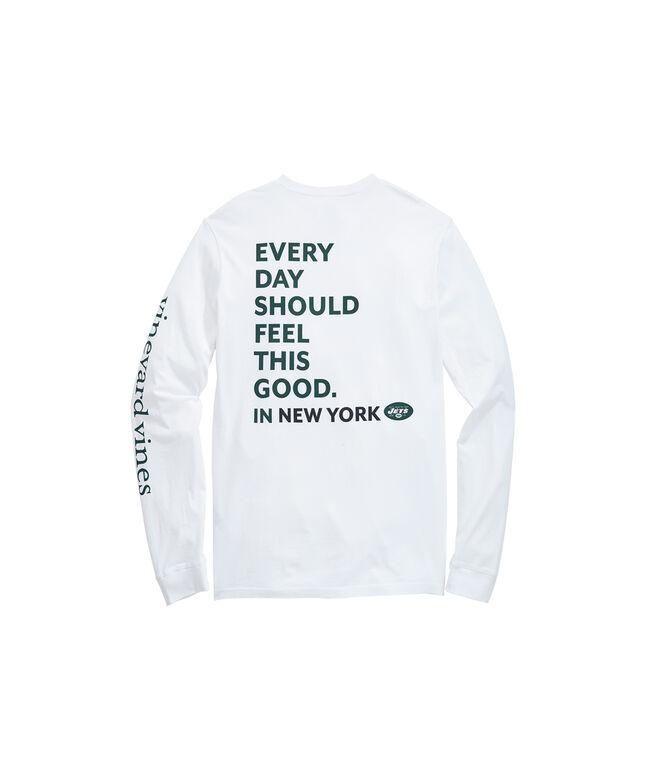 New York Jets Long-Sleeve EDSFTG T-Shirt