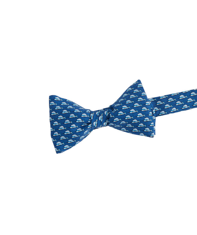 Sailfish Printed Bow Tie