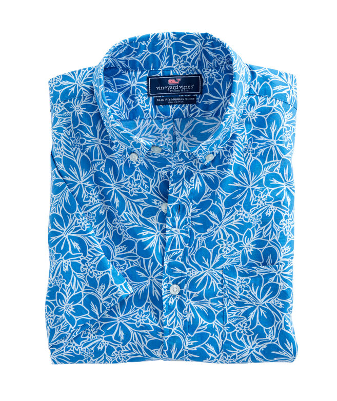 Short-Sleeve Floral Print Murray Shirt