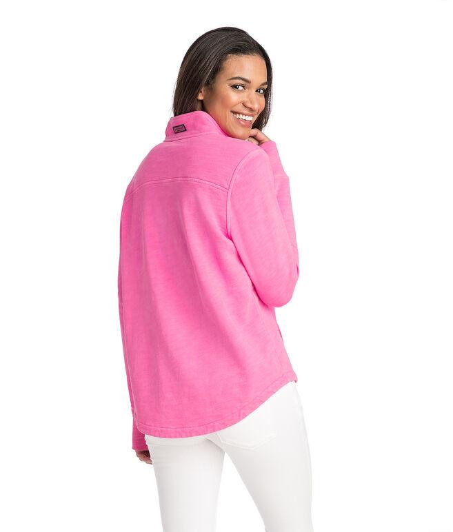 Garment Dyed Relaxed Slub Shep Shirt