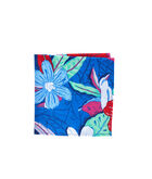Beach Flora Pocket Square