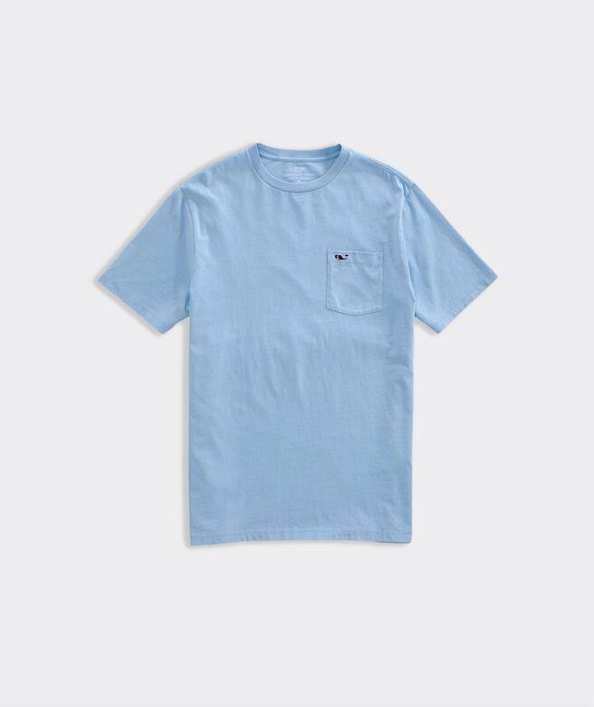 OUTLET Slub Whale Embroidered Short Sleeve Pocket Tee