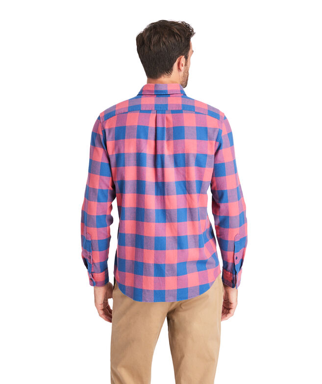 Slim Fit Kelby Flannel Longshore Shirt
