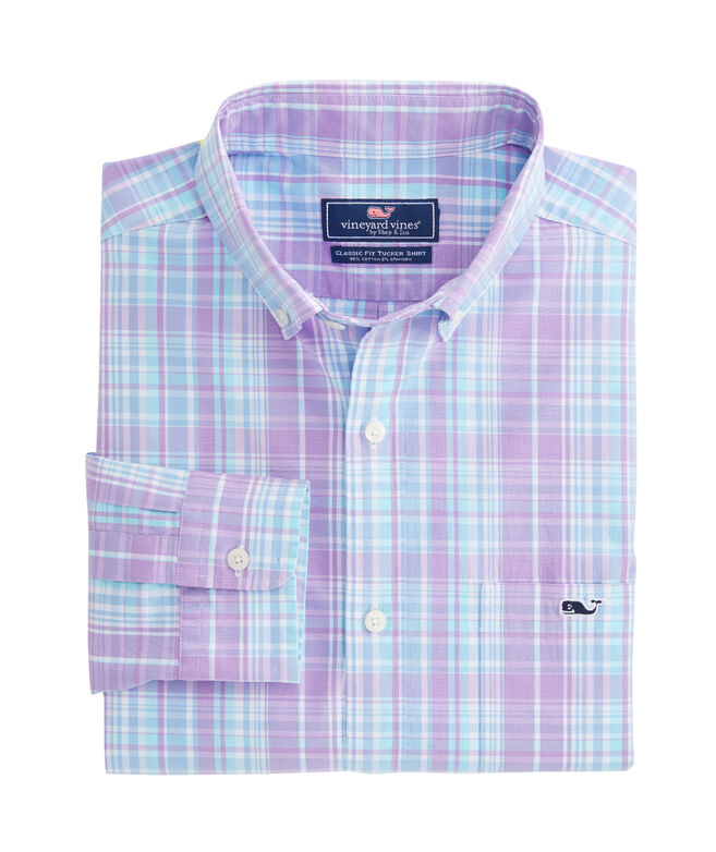 New Providence Plaid Classic Tucker Shirt