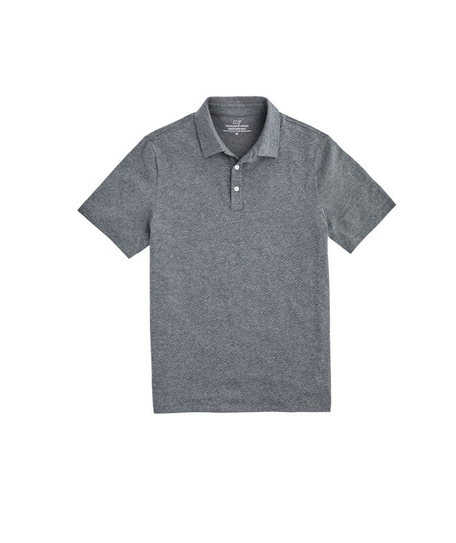 Mens Solid Edgartown Polo
