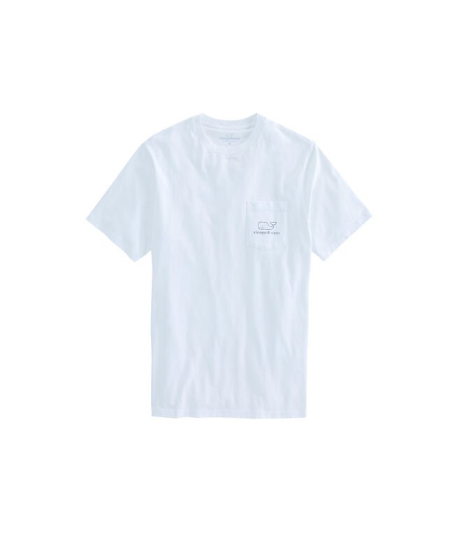 Vintage Whale Pocket T-Shirt