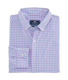 Oyster Pond Plaid Slim Performance Murray Shirt