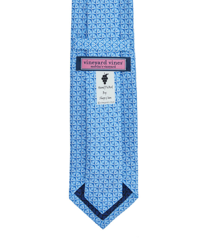 Compass Rose Printed Tie