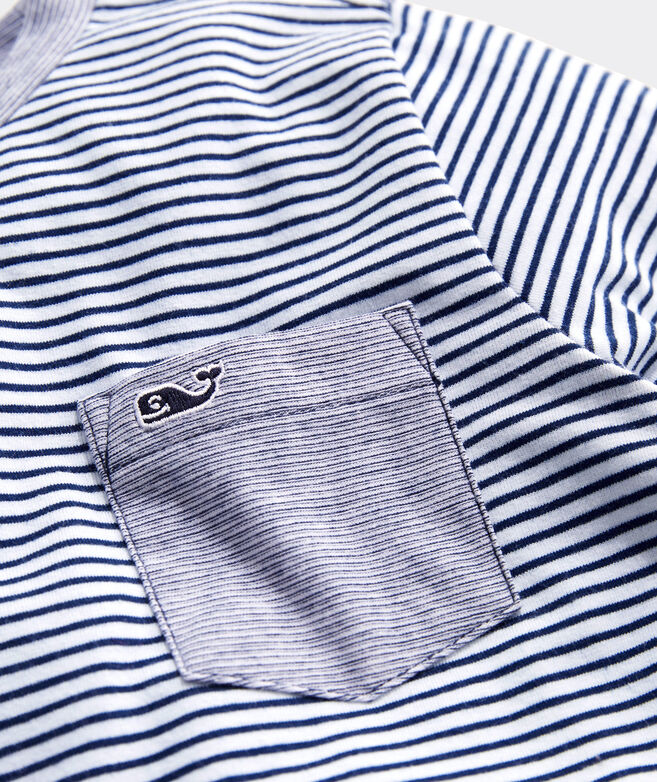 Boys' Super Soft Long-Sleeve Pocket Tee