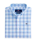 Boys Pasea Plaid Whale Shirt