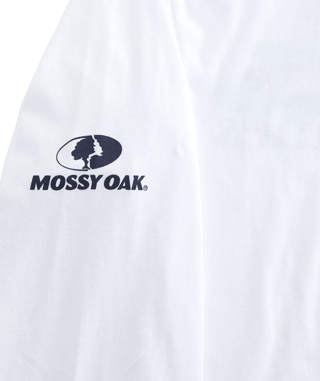 Mossy Oak Duck Hunt Whale Long-Sleeve Pocket Tee