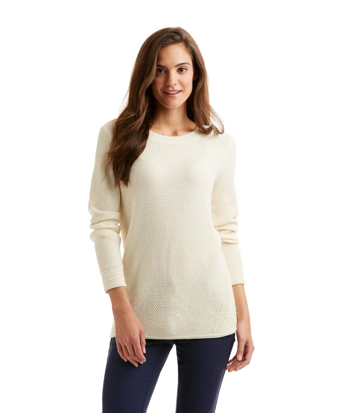 Shop Textured Crewneck Sweater at vineyard vines