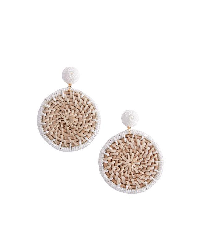 Basket Weave Earrings