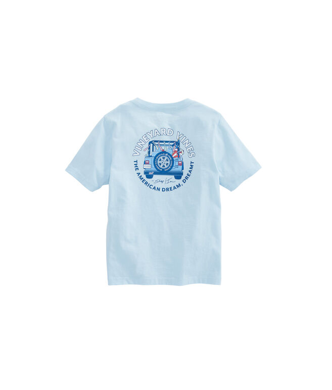 Boys American Dream Dreamt Pocket T-Shirt