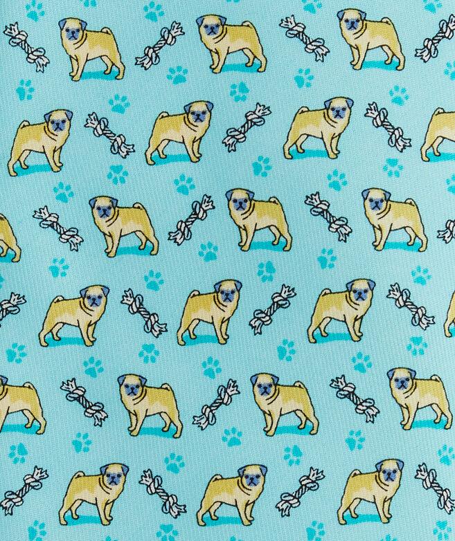 Pug Printed Tie