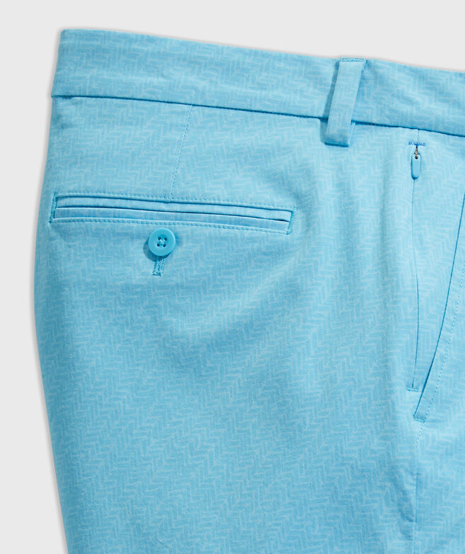 9 Inch Printed On-The-Go Shorts