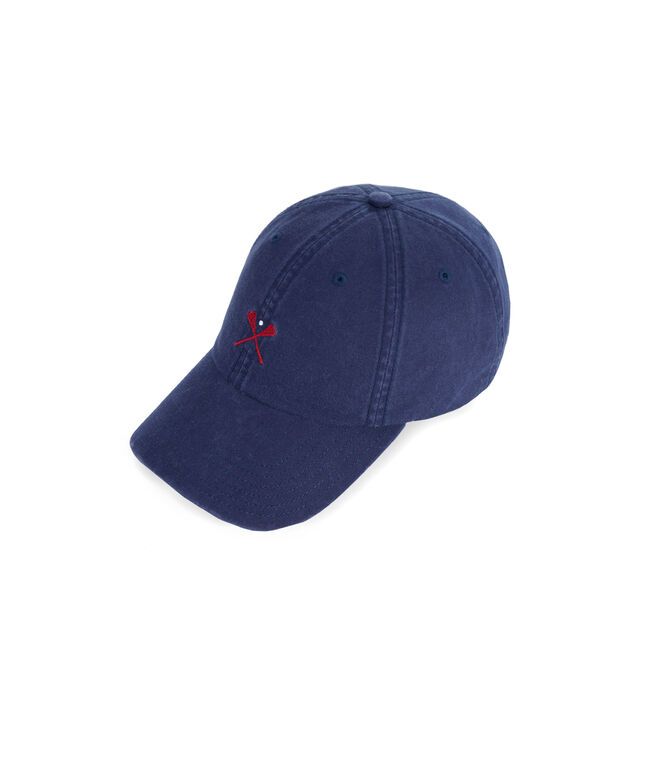Lax Embroidered Classic Twill Baseball Hat