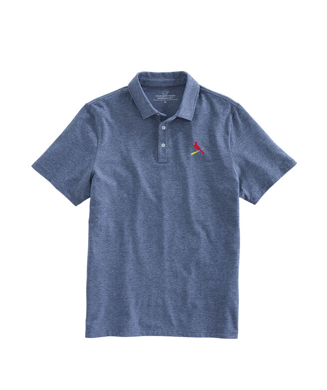 St. Louis Cardinals Solid Edgartown Polo