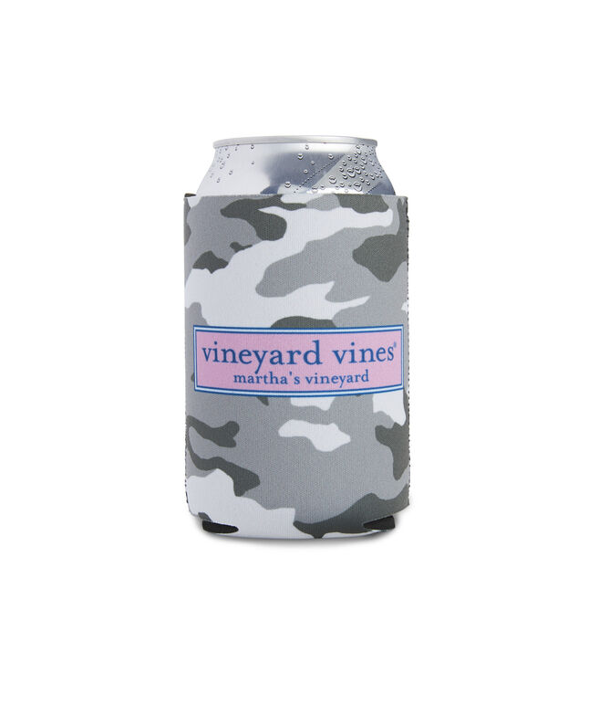 Gray Camo Coozie