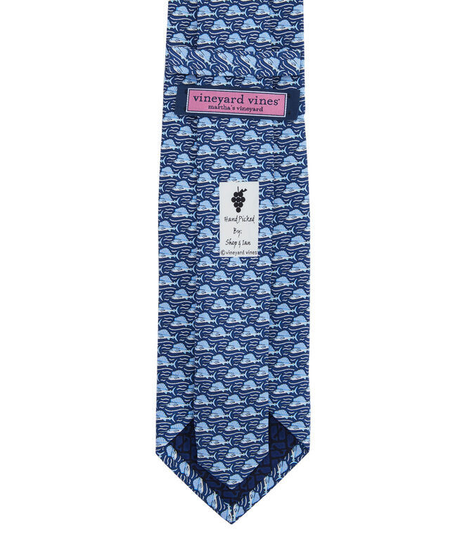 Marlin Leap Printed XL Tie