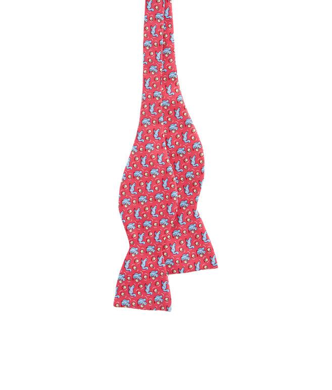 Squirrel & Acorn Bow Tie