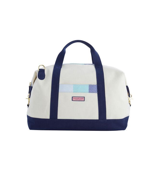 Patchwork Weekender Bag