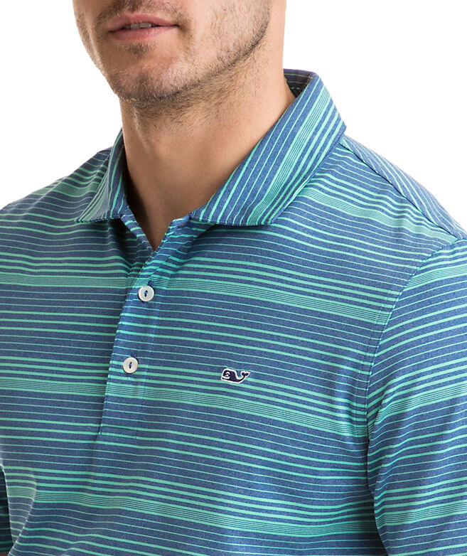 Tillman Stripe Sankaty Performance Polo