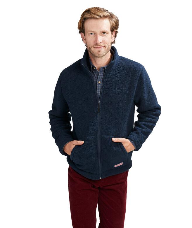 Stillwater Sherpa Full Zip Mock Jacket
