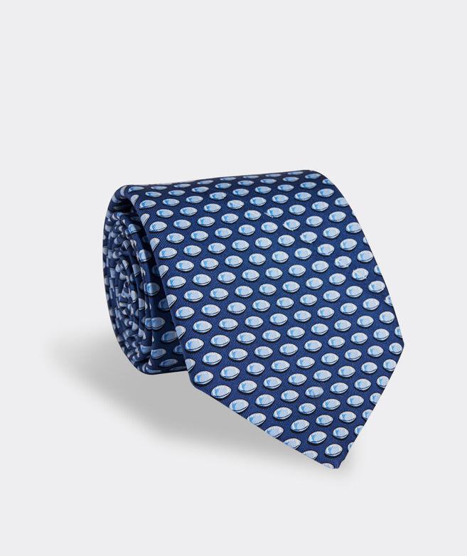 Footballs Printed Tie