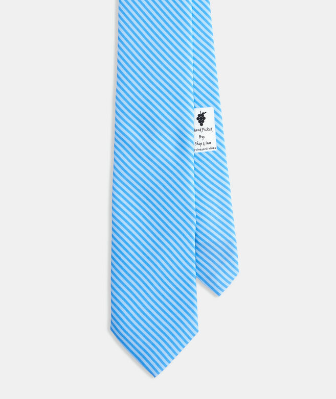 Striped Printed Tie