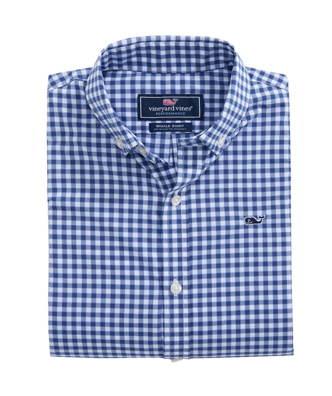 Boys Tods Point Performance Whale Shirt
